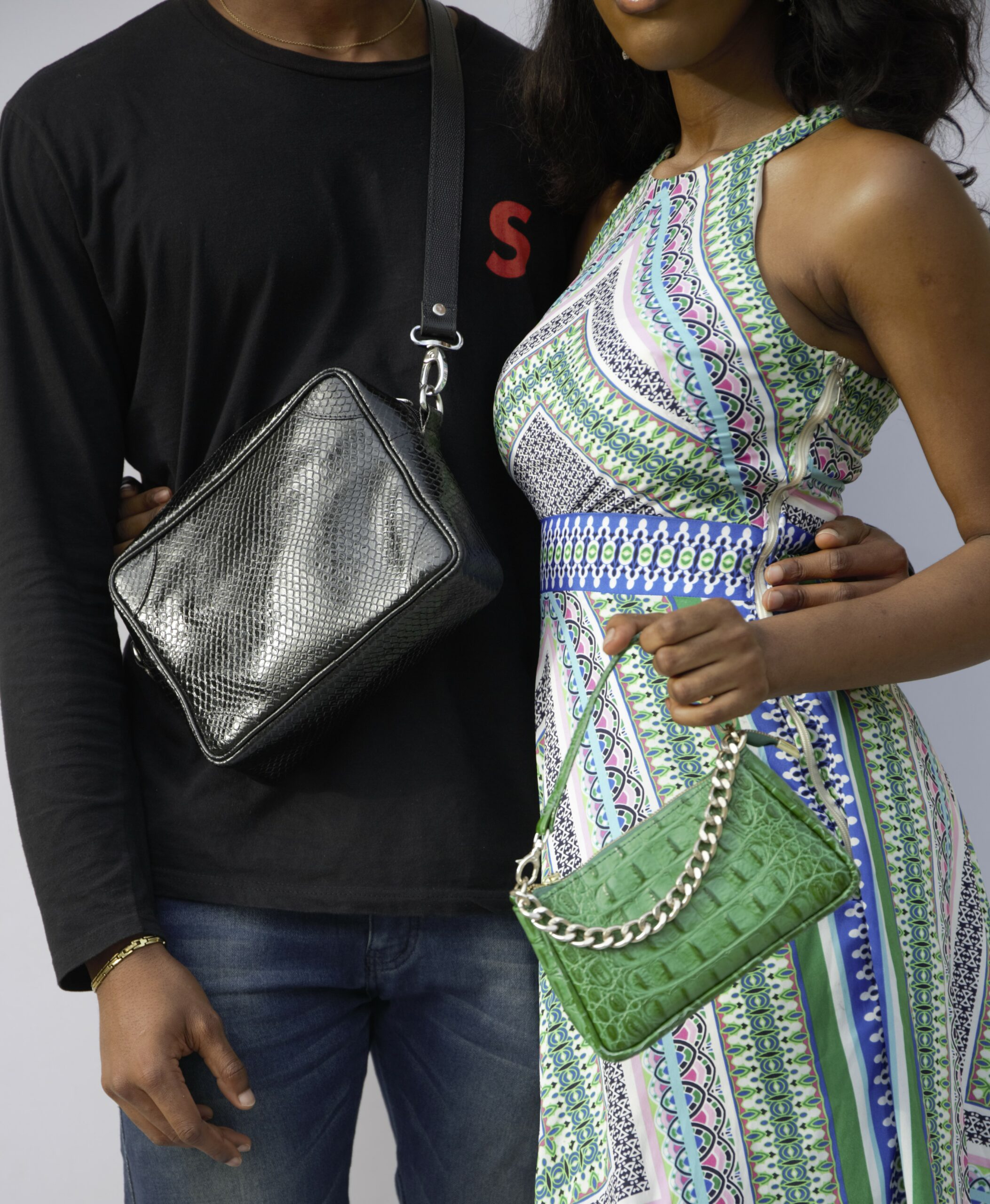 GREEN MIAMI MAMAI MINI AND MEN BAG